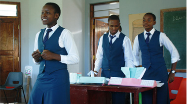 Enterprise Education at the School of St Jude, Tanzania, East Africa